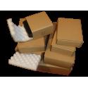 Noppenschaumkarton 250x140x80mm mit 40mm Noppen - 2-teilig Quick-Pack