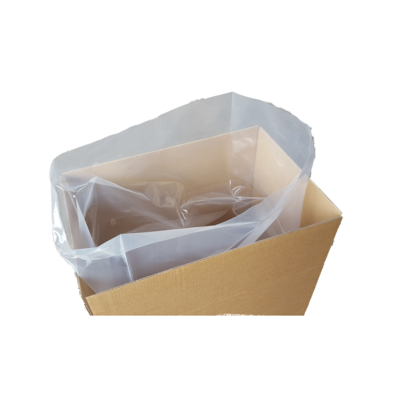 Flachsäcke Müllsäcke transparent 50my 500x800mm