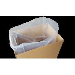 Flachsäcke Müllsäcke transparent 100my 650x1000mm