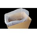 Flachsäcke transparent 200my Müllsäcke 650x1000mm