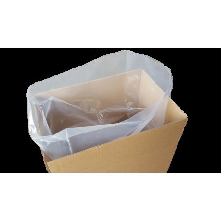 Flachsäcke Müllsäcke 650x1000mm 200my transparent