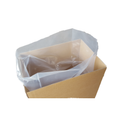 Flachsäcke transparent 150my Müllsäcke 750x1500mm