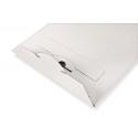 Colompac Versandtaschen CP012.02 - 210x26 mm aus Vollpappe in WEISS - DIN B5