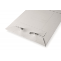 Colompac CP012.05 - 260x345mm Versandtaschen aus Vollpappe in WEISS - DIN C4