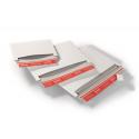 Colompac CP017.01 - 227x160mm Versandtasche mit Querbefuellung aus Vollpappe in WEISS - DIN A5