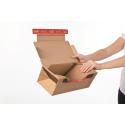 Colompac CP069.08 - 384x290x190 mm Return Box mit ColomPac Ruecksendeverschluss Gr. XL