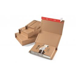 Colompac CP020.01 - 147x126x0-55 mm Buchverpackung DIN A6 - CD