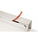 Colompac CP035.53 - 305x230x0-92 mm Flexible Universalversandverpackung mit zusätzlichem Selbstklebeverschluss in weiss DIN A4