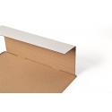 CP035.53 - 305x230x0-92 mm Flexible Universalversandverpackung mit zusätzlichem Selbstklebeverschluss in weiss DIN A4