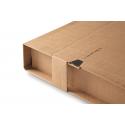 Colompac CP030.03 - 310x220x0-92 mm robuste Versandverpackung mit Sicherungslasche DIN A4