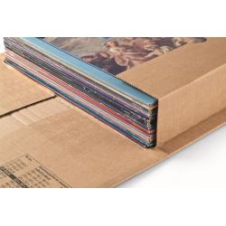 Colompac CP030.07 - 465x330x0-92 mm robuste Versandverpackung mit Sicherungslasche DIN C3