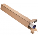 Colompac CP070.05 - 705x105/55x75 mm Trapezversandbox, Archivbox DIN A1