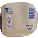 Luftpolstertaschen braun Arofol Größe B/2 120x215mm
