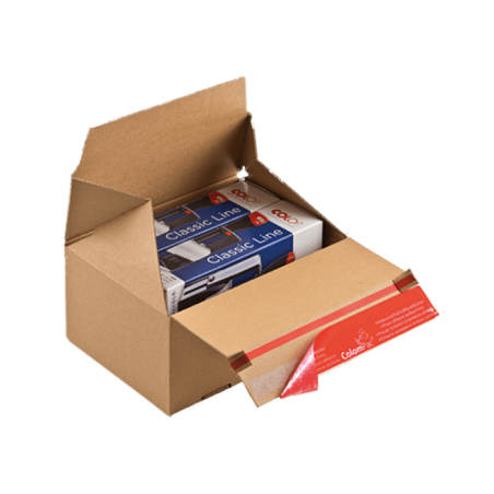 ColomPac® Euroboxen CP154.201515 - 200x150x150mm Blitzbodenkarton