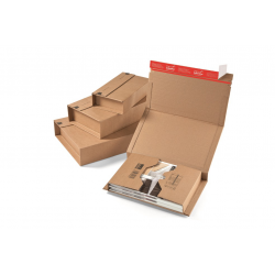 Colompac CP020.08 - 302x215x0-80 mm Buchverpackung DIN A4