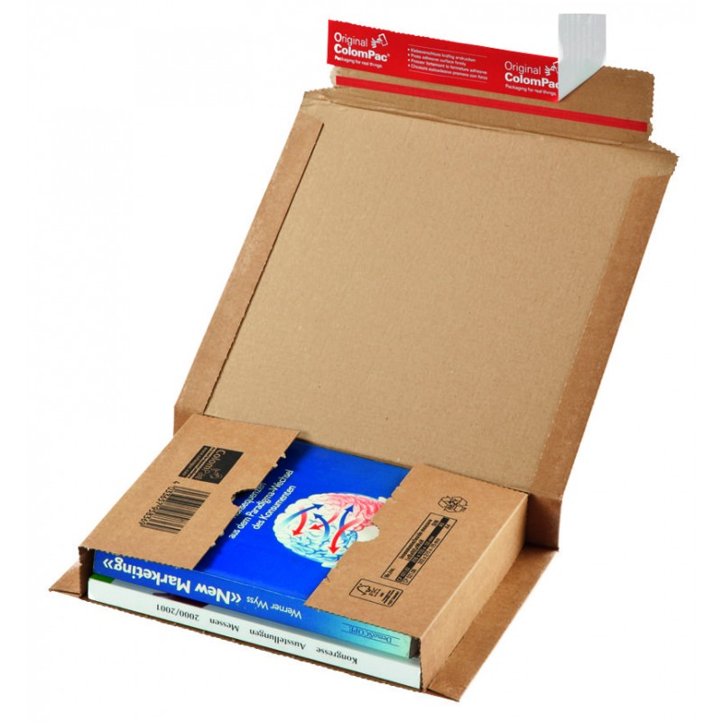 Colompac CP021.09 - 307x245x0-75 mm Buchverpackung DIN A4