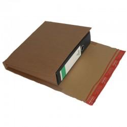 Colompac CP050.01 - 320x290x35-80 mm Ordnerverpackung braun