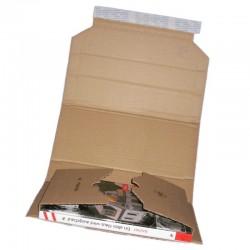 Buchverpackung MW352 217x155x10-50mm - Multiwell Karton DIN A5