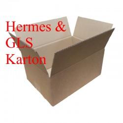 Karton Hermes 350x350x150 mm GLS Faltschachtel
