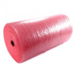 antistatische Luftpolsterfolie rosa 2-lagig 50cm x 100lfm x 50my