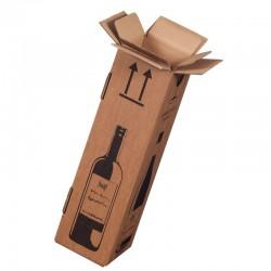 1er Flaschenkarton mit PTZ-Zulassung Post / DHL / UPS 105x105x420mm
