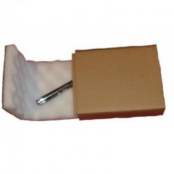 Noppenschaumkarton 130x100x30mm mit 15mm Noppen - 2-teilig Quick-Pack