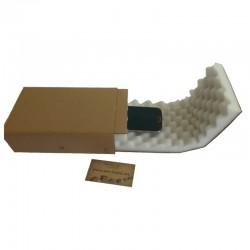 Noppenschaumkarton 200x125x50mm mit 25mm Noppen - 2-teilig Quick-Pack