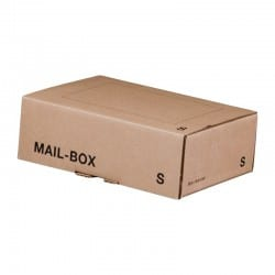 "Mail-Box ""S"" 249x175x79 mm in braun"