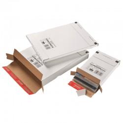 Colompac CP065.59 - 250 x 353 x 30 mm weiss, Kurierpaket